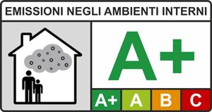 Etichetta emissioni negli ambienti interni